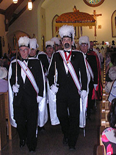 Knights of Columbus 4th Degree Escort